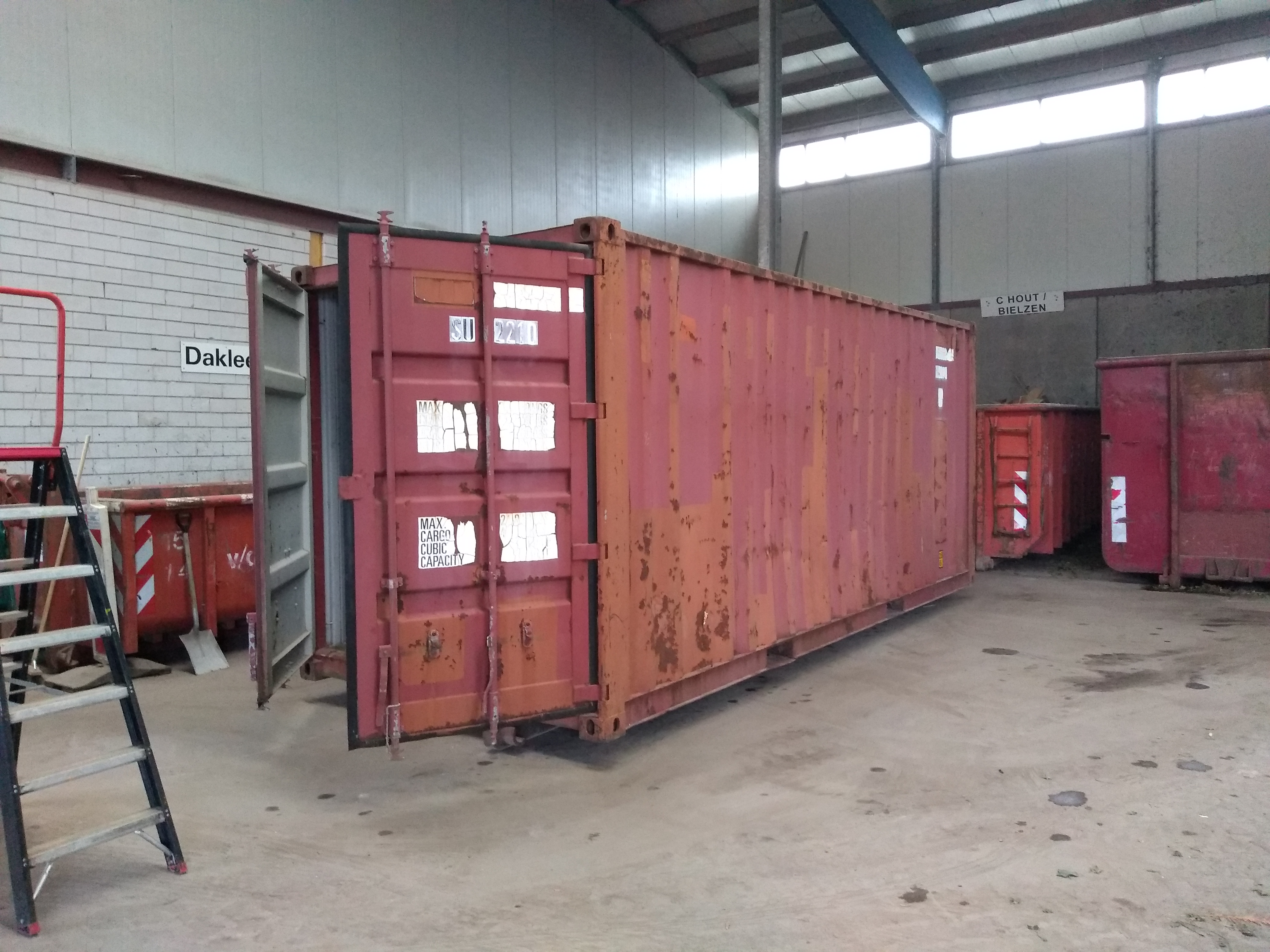 Container HVDH
